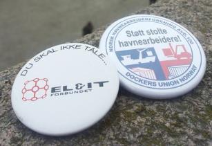 Støtte til havnearbeidernes kamp mot sosial dumping